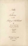 Notes of Lectures on the Law of Scotland, Vol. I